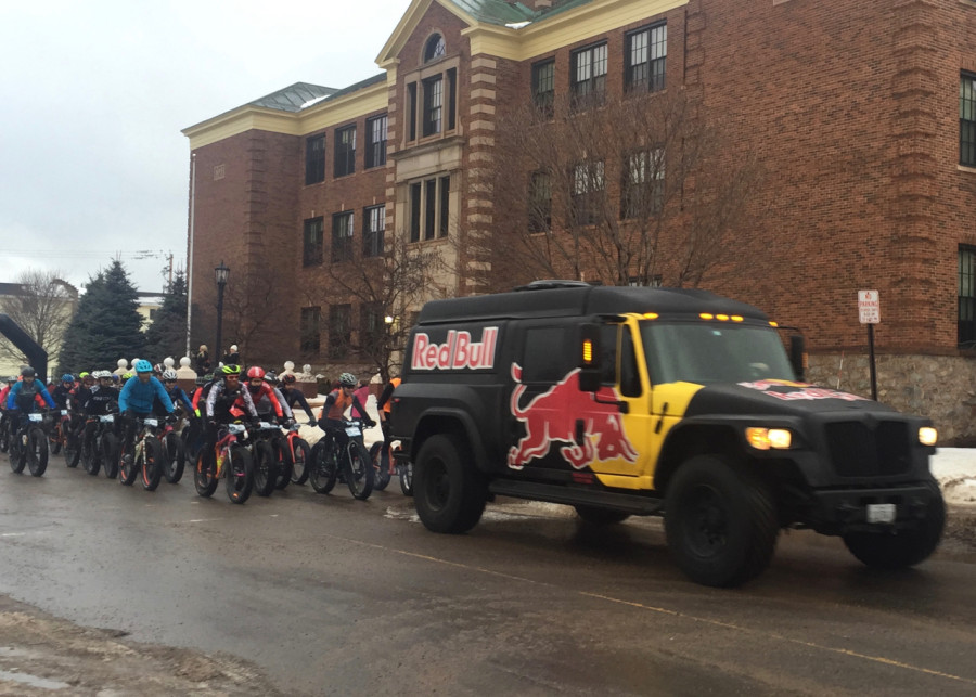polar roll fat bike race