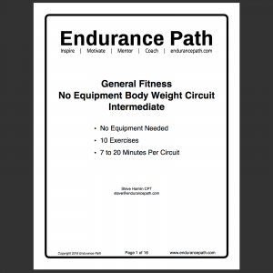 intermediate no equipment body weight circuit