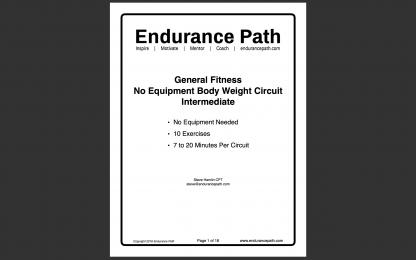 intermediate no equipment body weight circuit