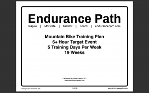 mtb training plan