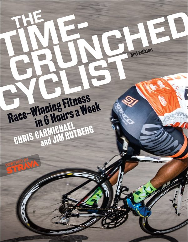 time crunched cyclist